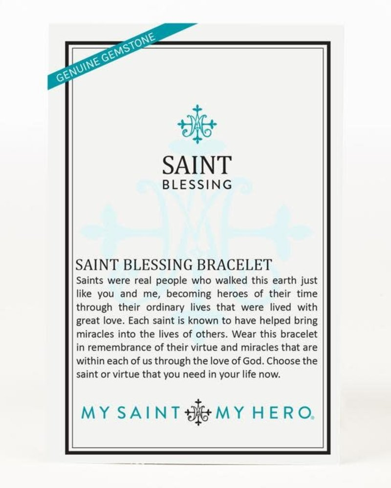 My Saint My Hero My Saint My Hero St. Benedict 'Blessed' Saint Charm Bracelet