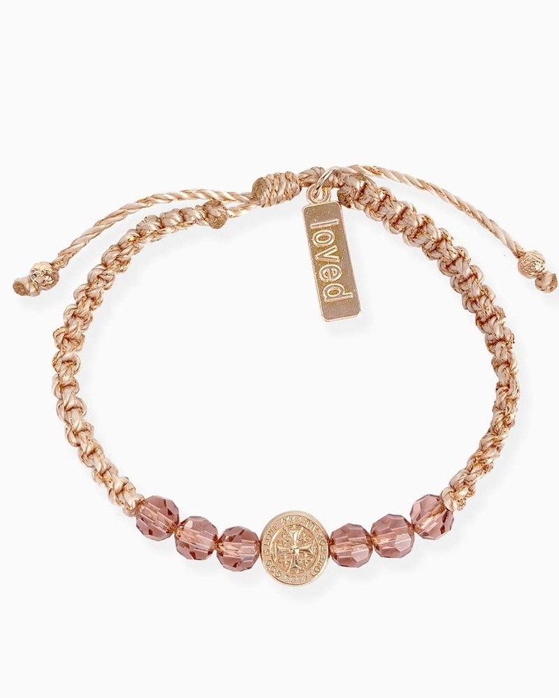 My Saint My Hero My Saint My Hero 'A Mother's Love Blessing For My Daughter Bracelet