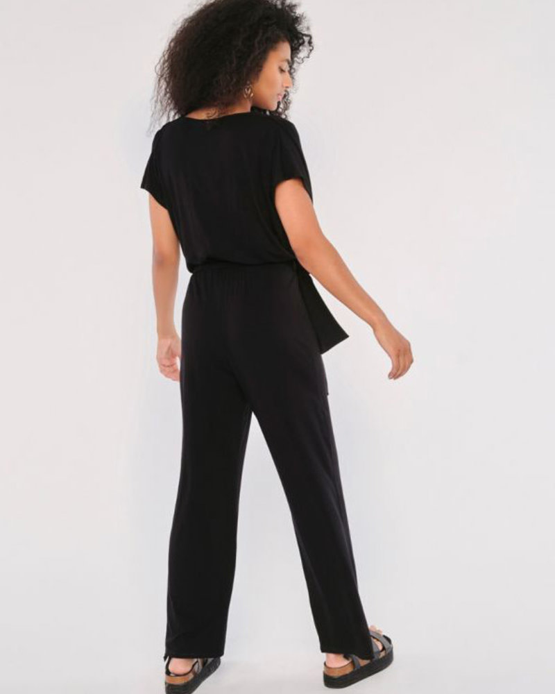 Apricot Apricot 'Sleek & Chic' Cowl Neck Jersey Jumpsuit **FINAL SALE**
