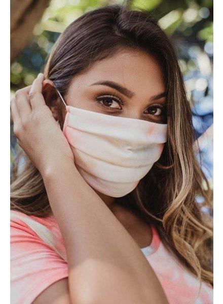Veronica M Adult Face Mask Sherbet Tie Dye