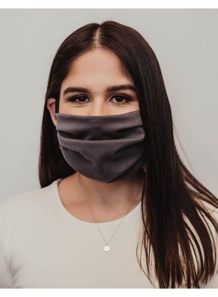 Veronica M Adult Slate Grey Face Mask