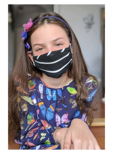 Coin1804 Kids Basic Stripe Face Mask (More Colors)