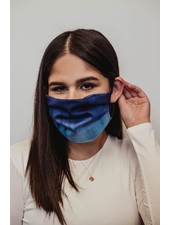 Veronica M Adult Ocean Tie Dye Face Mask