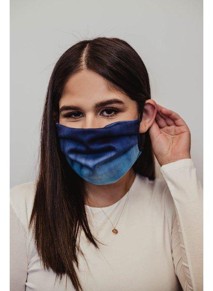 Veronica M Adult Ocean Tie Dye Face Mask
