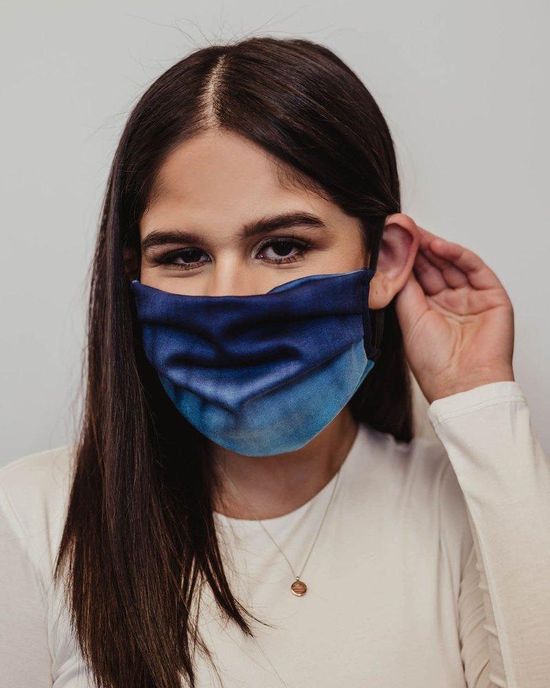 Veronica M Veronica M Adult Ocean Tie Dye Face Mask