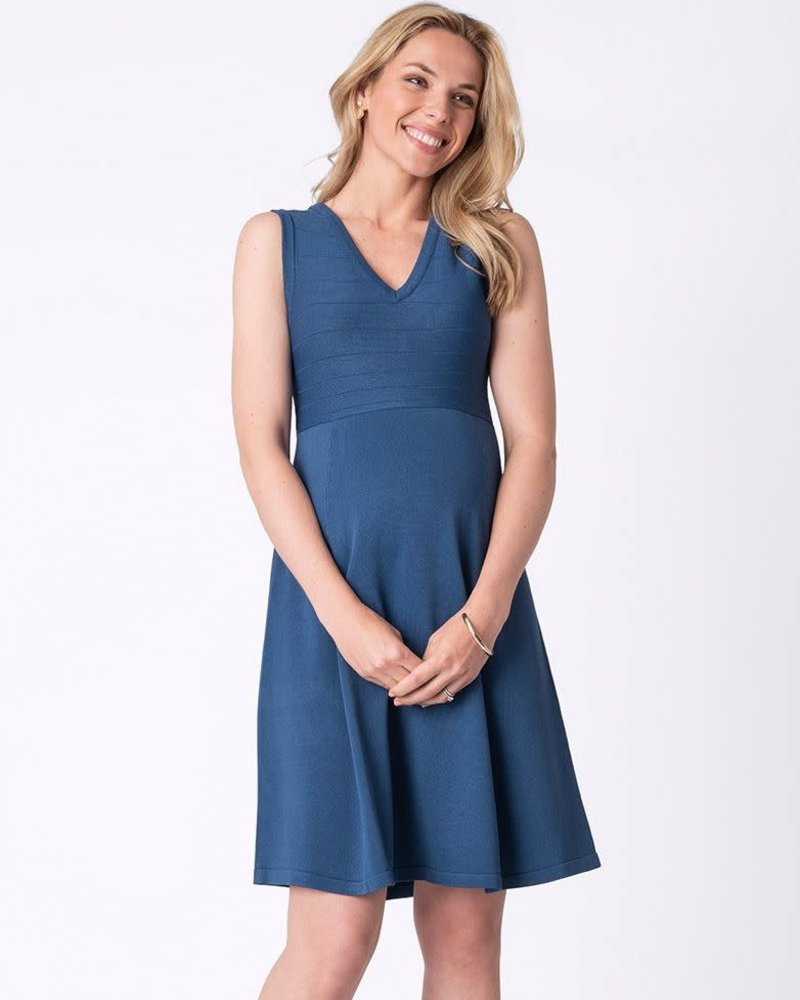 Seraphine Maternity Seraphine Maternity 'Gracie' Stretch Knit Maternity Dress