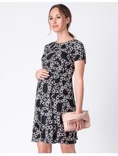 Seraphine Maternity 'Janette' Chain Print Maternity Dress