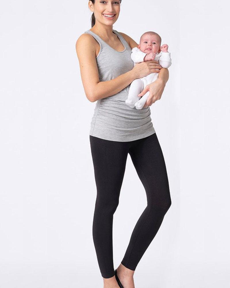 Seraphine Maternity Seraphine Maternity Grey 'Aniza' Nursing Tank
