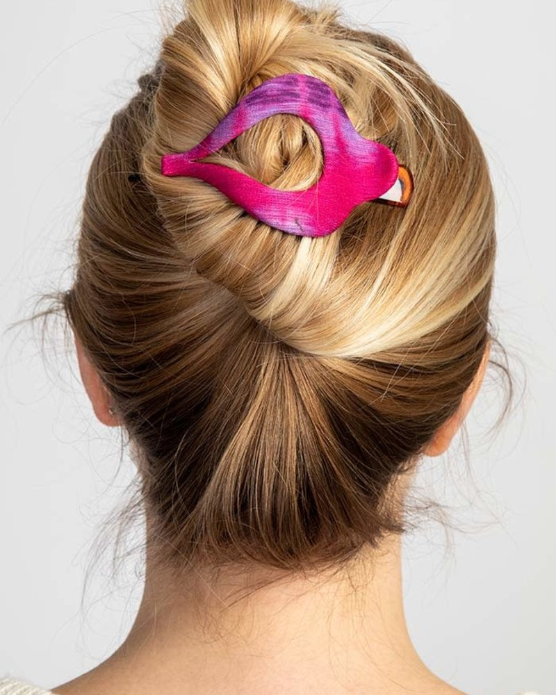 Natural Life Natural Life Tie-Dye Boho Hair Clips