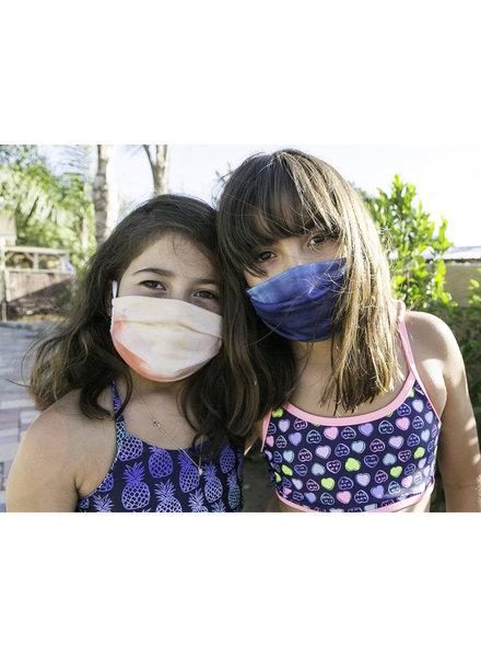 Veronica M Kids Ocean Tie Dye Face Mask