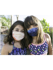 Veronica M Kids Sherbet Tie Dye Face Mask