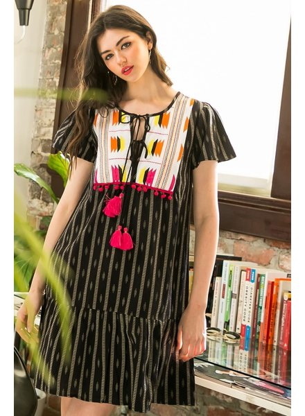 THML 'Spice of Life' Embroidered Dress **FINAL SALE**