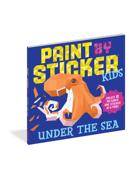 Workman Publishing Paint by Sticker Kids: Under The Sea