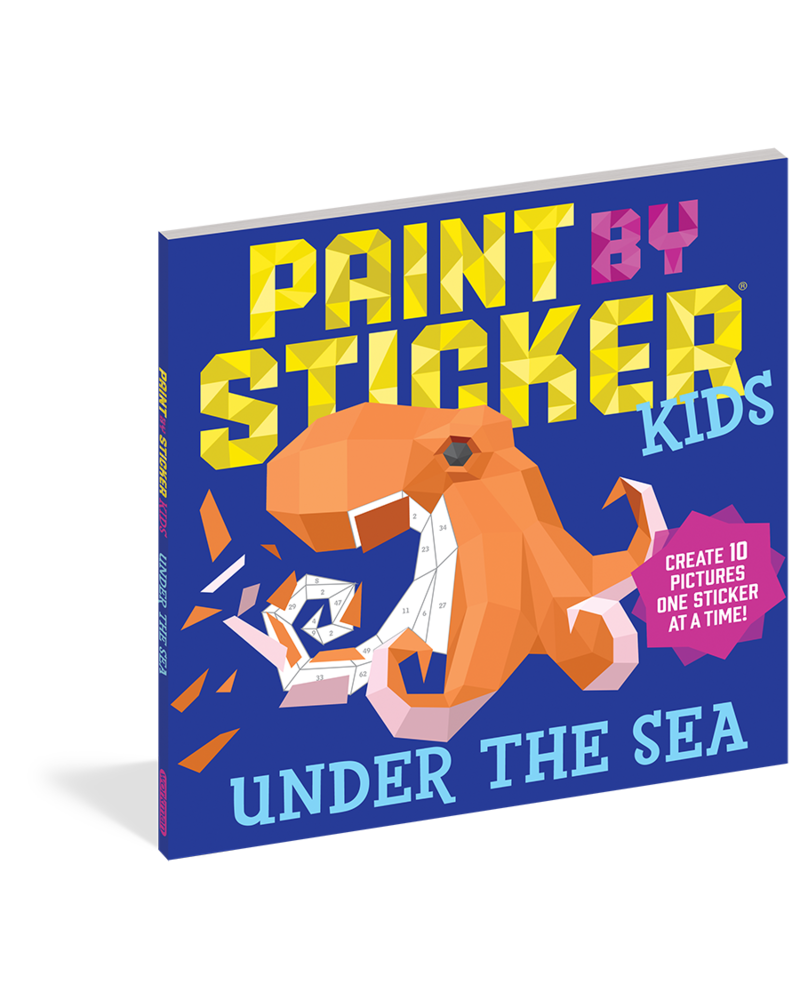 Workman Publishing Workman Paint by Sticker Kids: Under The Sea