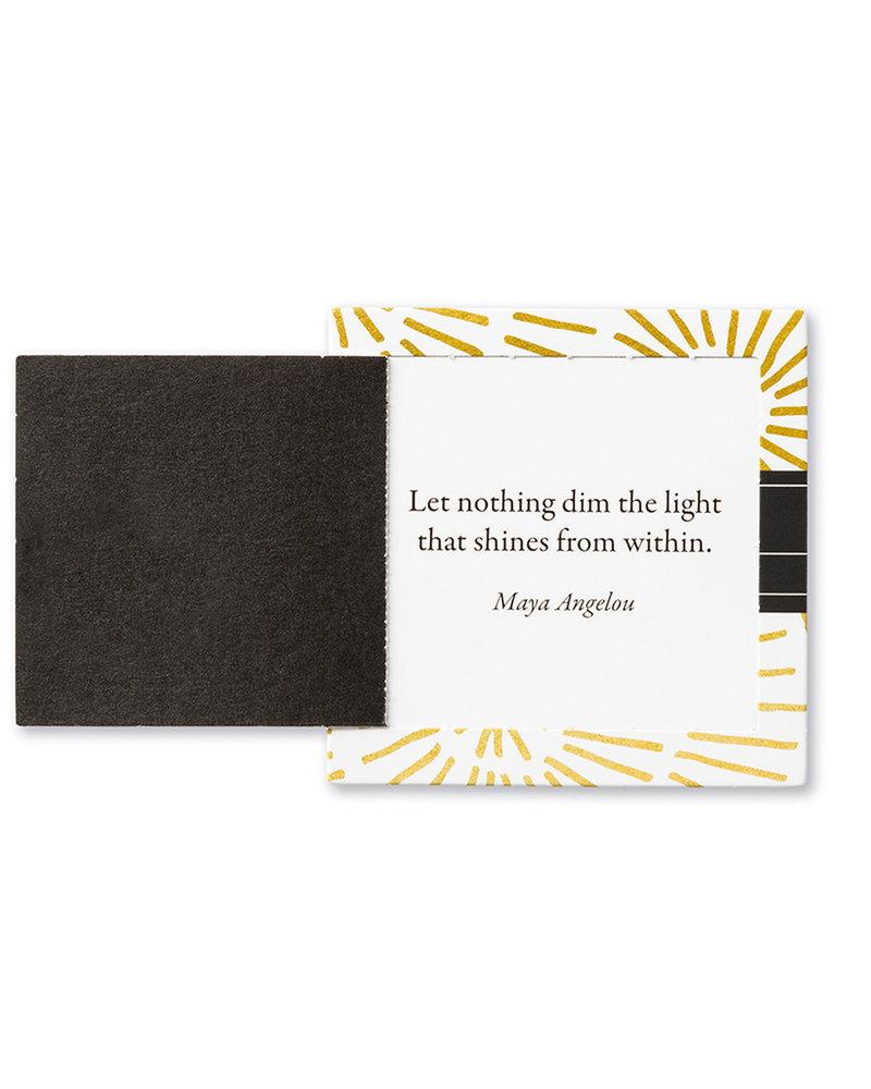 Compendium Compendium 'Shine' ThoughtFulls