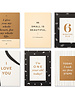 Compendium Compendium 'Moments Of Love' Newborn Milestone Cards