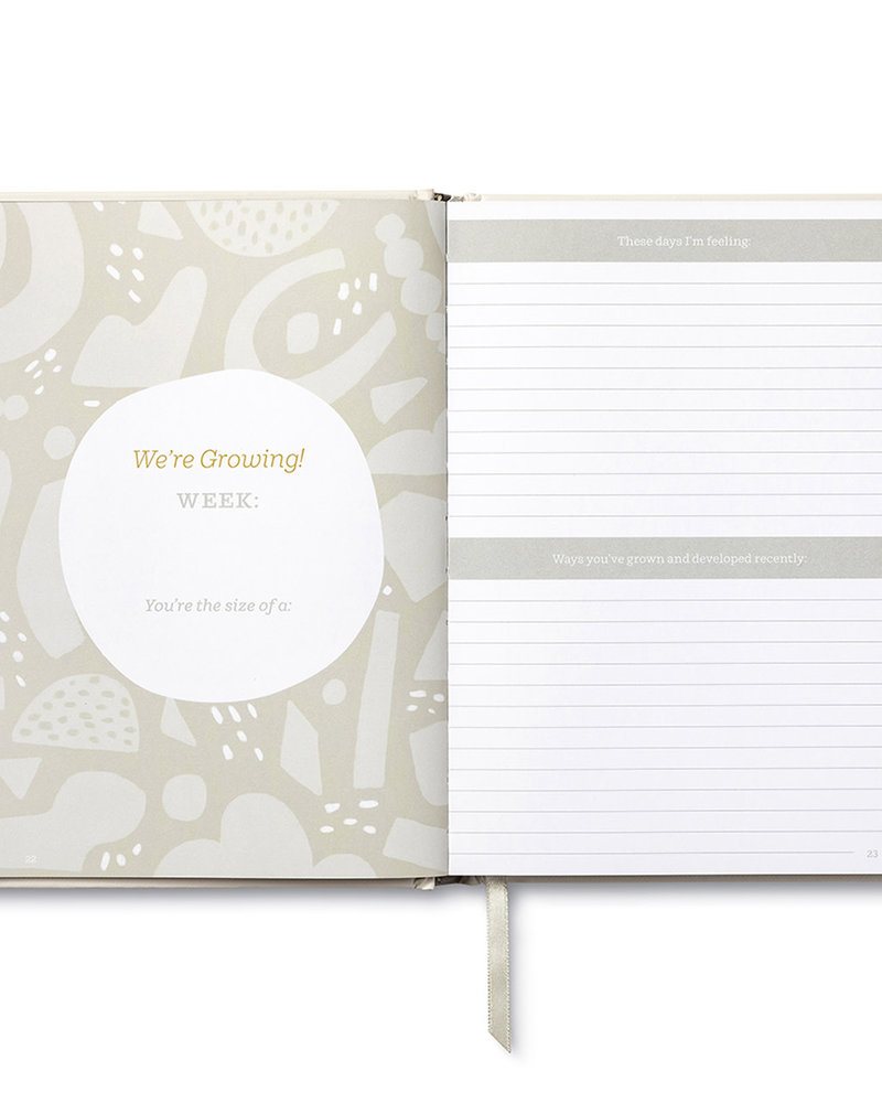 Compendium Compendium Waiting For You: A Keepsake Pregnancy Journal