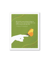 Compendium Birthday Card | 'She Quietly Expected Great Things'