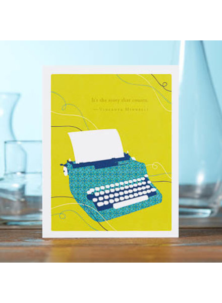 Compendium Birthday Card | 'It's The Story That Counts'