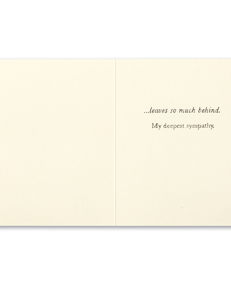 Compendium Compendium Sympathy Card | 'So Much Love'