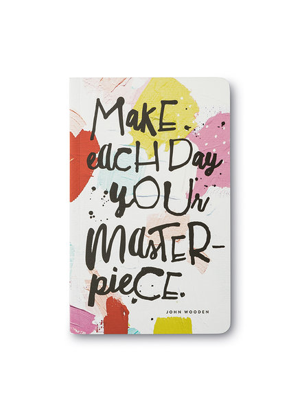 Compendium 'Make Each Day Your Masterpiece' Write Now Journal
