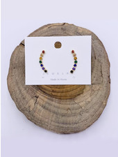 Must Have Rainbow Climber Earrings (2 Colors)