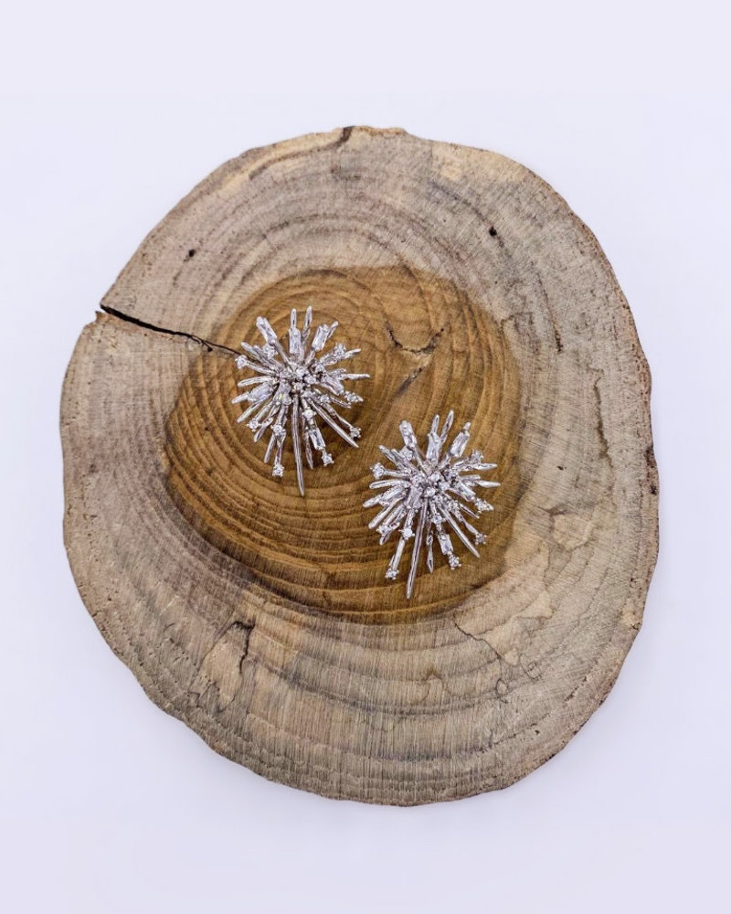 Must Have Must Have Supernova Sparkle Earrings