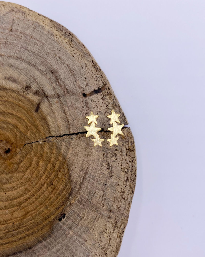 Must Have Must Have Triple Star Earrings