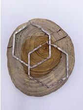 Must Have Hexagon Hoop Earrings