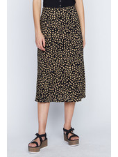 Sanctuary Clothing Black 'Modern Spots' Midi Skirt