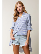 Doe & Rae 'Stay Wavy' Button Up Shirt