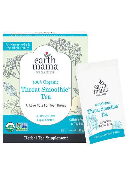 Earth Mama Organics Throat Smoothie Tea