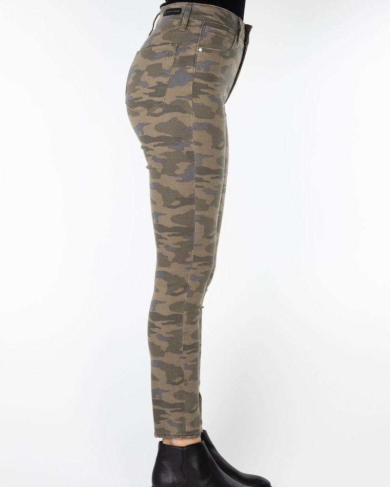 Articles of Society Articles of Society 'Heather' High Rise Skinny Crop Jean in Eagle River