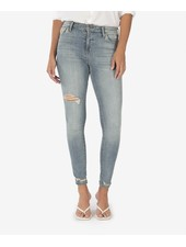 Kut from the Kloth 'Mia' High Rise Skinny Jeans in Enlightened Wash