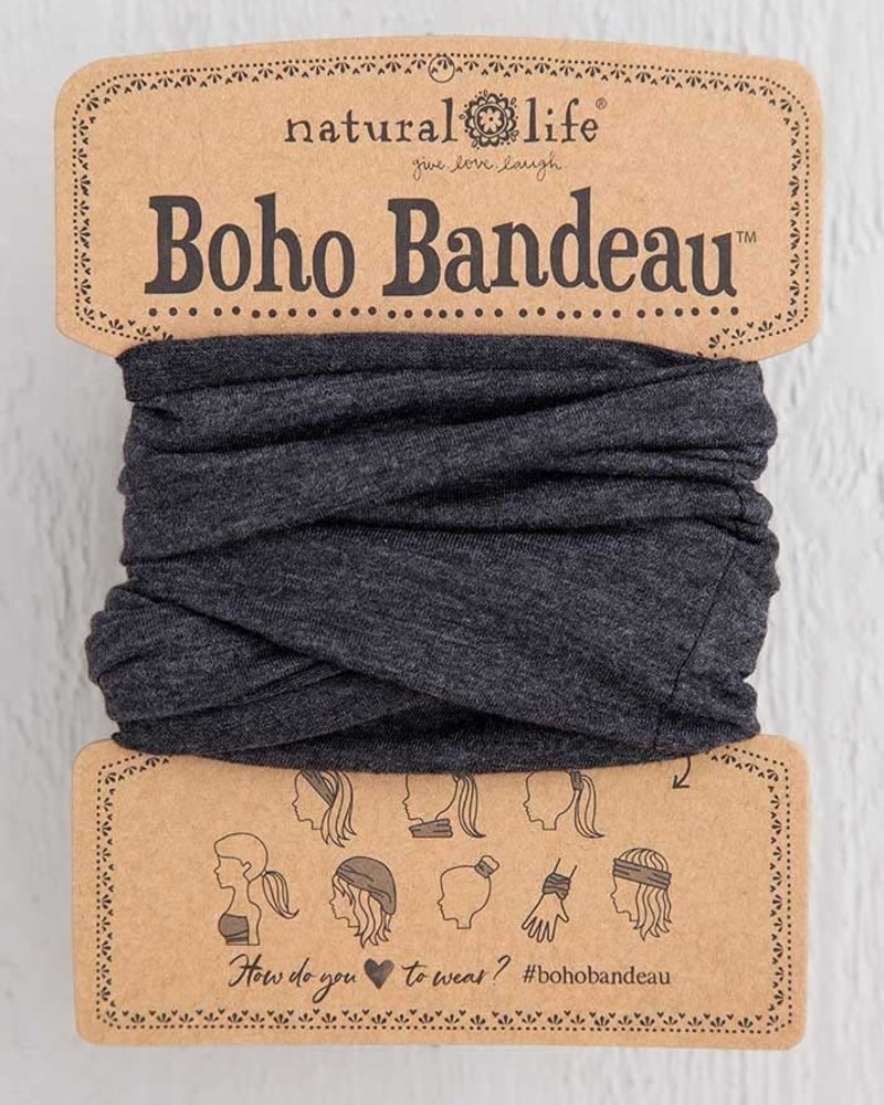 Natural Life Natural Life Boho Bandeau in Heathered Charcoal