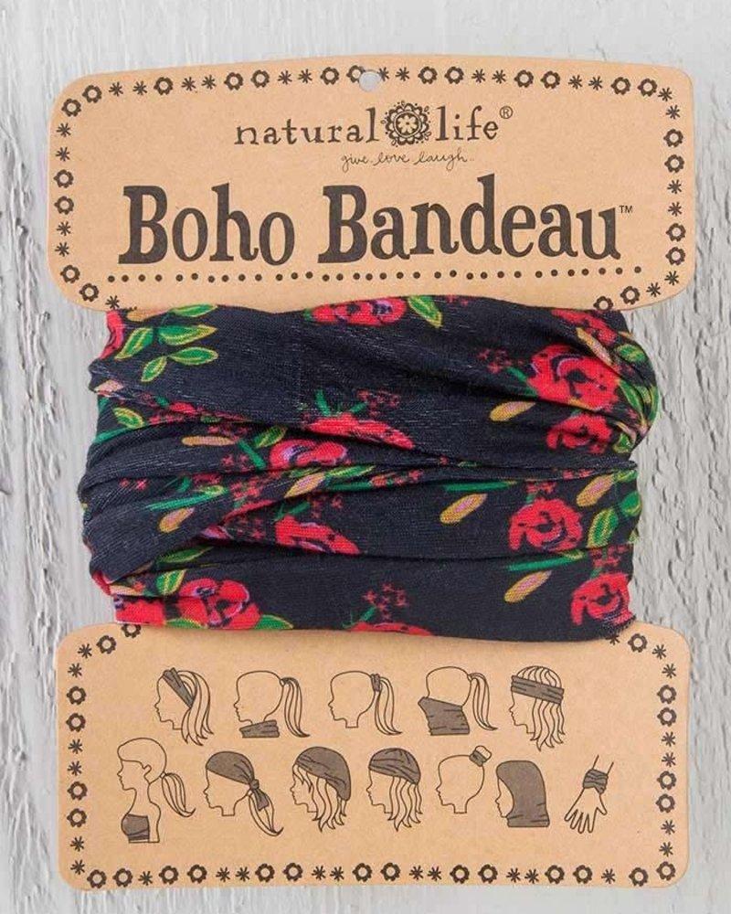Natural Life Natural Life Boho Bandeau in Black Blooms