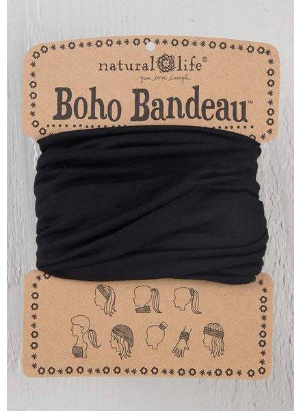 Natural Life Boho Bandeau in Black