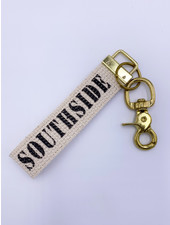 Marshes, Fields & Hills by Rustic Marlin Southside Canvas Keychain (More Colors)