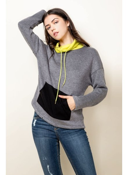 THML 'Highlight The Beauty' Pullover Sweater