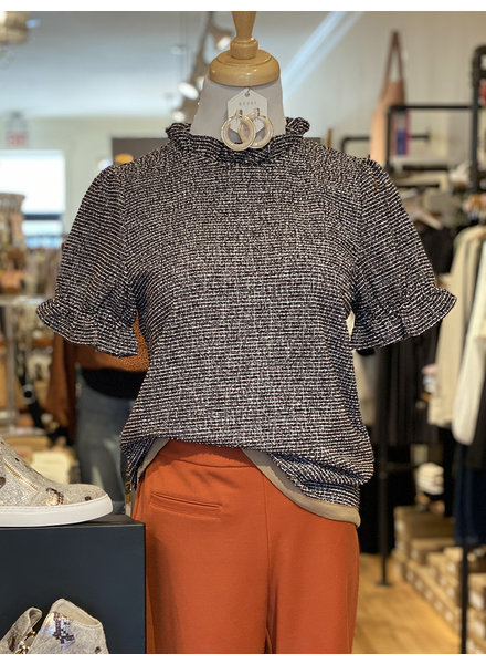 THML 'About That Tweed Life' Top