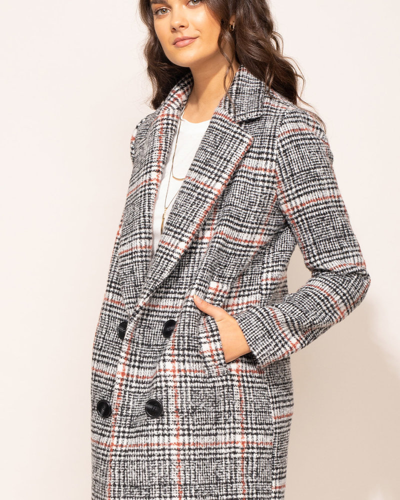 Pink Martini Collection Pink Martini 'Siena' Coat