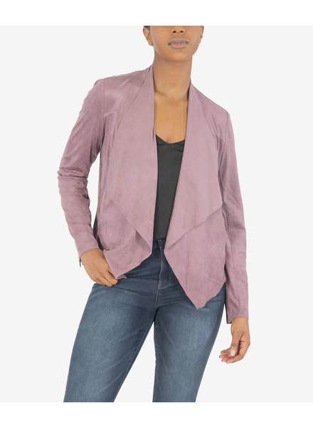 Kut from the Kloth 'Tayanita' Faux Suede Drape Jacket