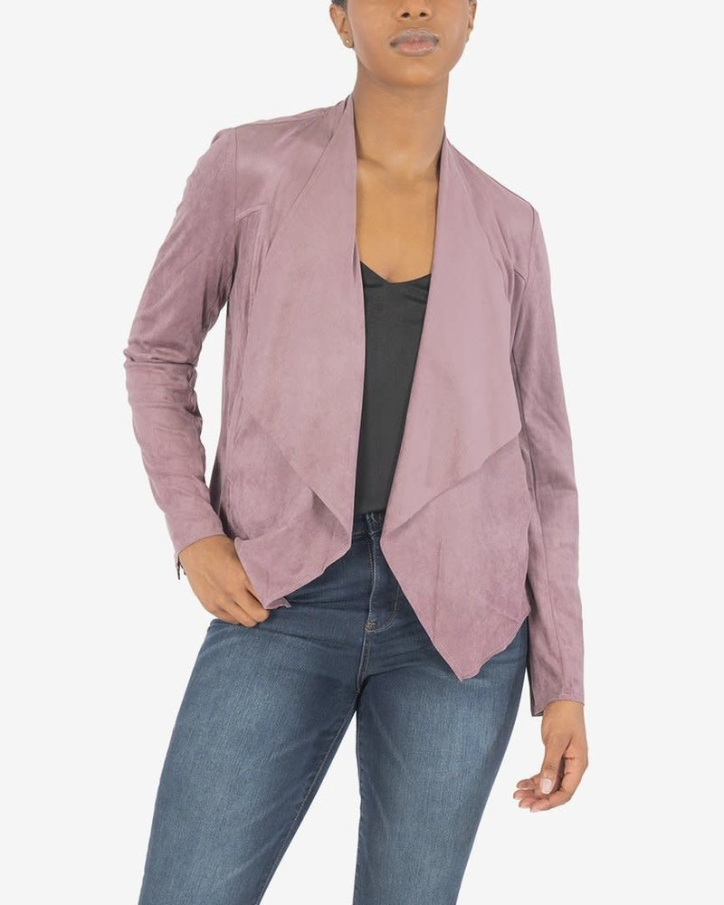 Kut from the Kloth Kut From The Kloth 'Tayanita' Faux Suede Drape Jacket