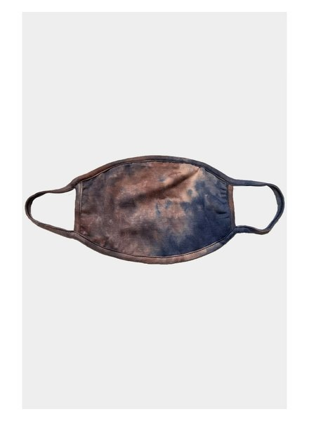 Coin1804 Adult Coffee Tie Dye Face Mask