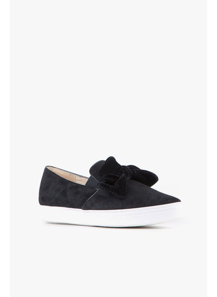 All Black New Tux Slip On Sneaker