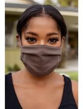 Veronica M Adult Adjustable Autumn Brown Face Mask
