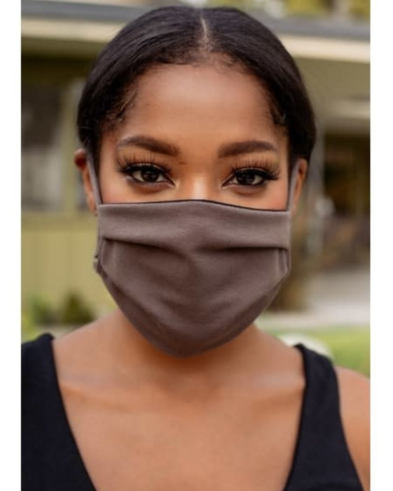 Veronica M Veronica M Adult Adjustable Autumn Brown Face Mask