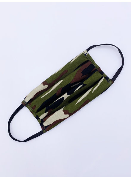 Veronica M Kids Classic Camo Face Mask