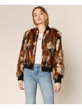 Cupcakes & Cashmere 'Petras' Faux Fur Jacket