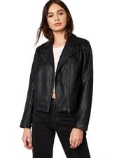 BB Dakota 'Motor Of Fact' Vegan Leather Jacket